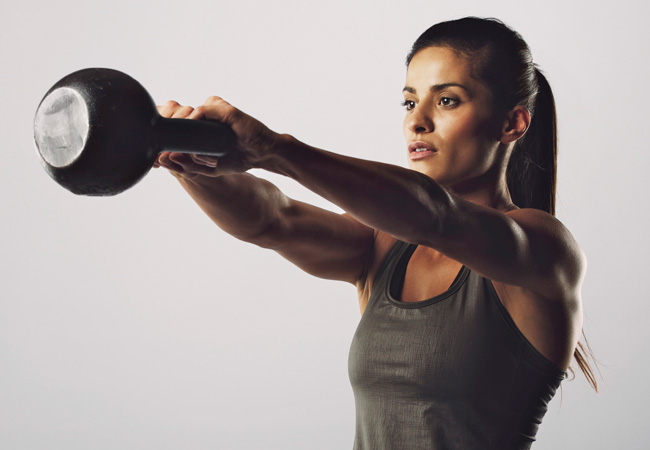 The benefits of kettlebell exercises -