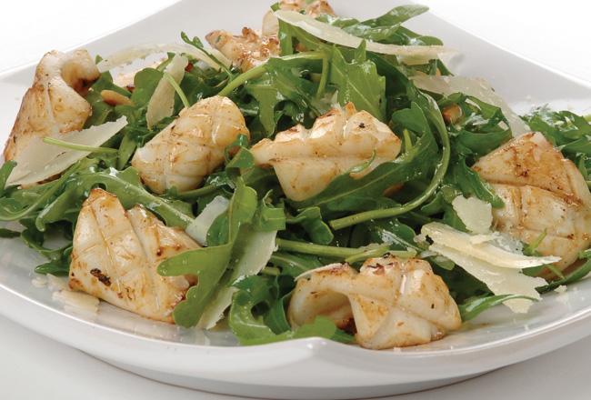 Calamari and rocket salad - Women's Health & Fitness