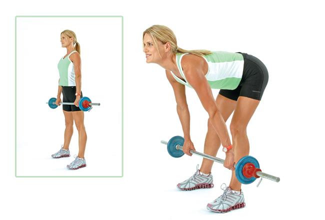 Straight bar deadlift - Women's Health & Fitness