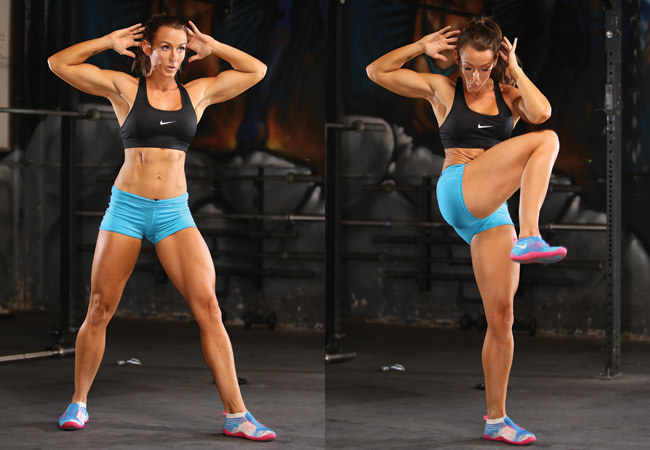 Power crunches - IMAGE - Women's Health and Fitness