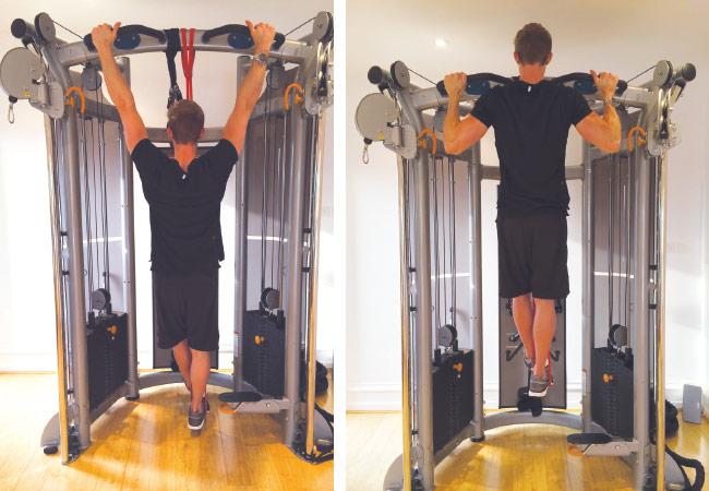 Bar pull-ups - Women's Health & Fitness