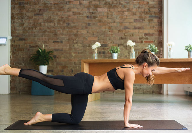 pilates-for-beginners-The-superman kxpilates - Women's Health and Fitness magazine