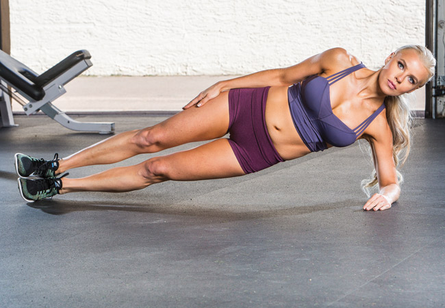 Side plank - IMAGE - Women's Health and Fitness