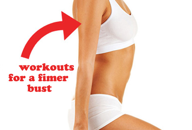 12 workouts for a firmer bust - IMAGE - Women's Health & Fitness