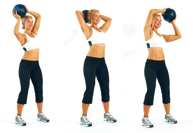 Around the world - Medicine Ball workouts - Women's Health & Fitness