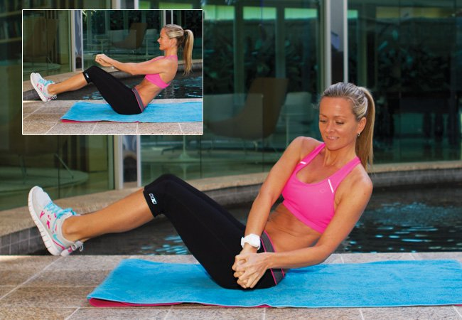 Roman twist for strong core - PICTURE - Women's Helath & Fitness