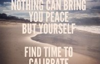 Find time to calibrate