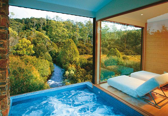 spa-retreats-australia-Peppers-Cradle-Mountain-Lodge-Women's Health and Fitness magazine